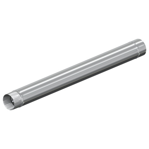 D160 Моно труба 1000 мм нержавейка AISI 321 0.5 мм