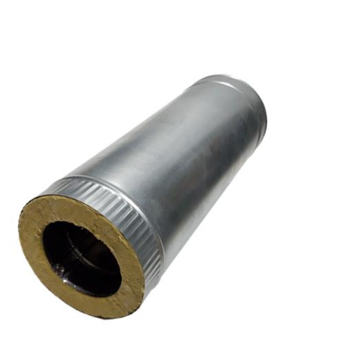 Сэндвич - труба 500 мм  50 мм, 180 мм, AISI 321, Оцинковка, 0,8 мм