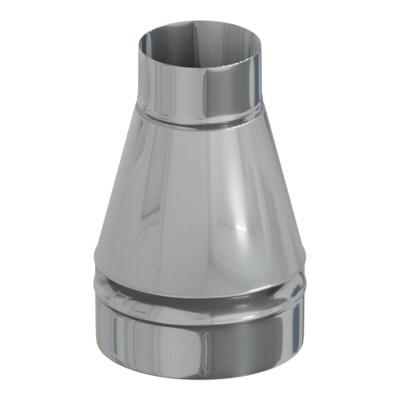 Переход термо - моно 50 мм, 180 мм, AISI 430, AISI 430, 0,5 мм