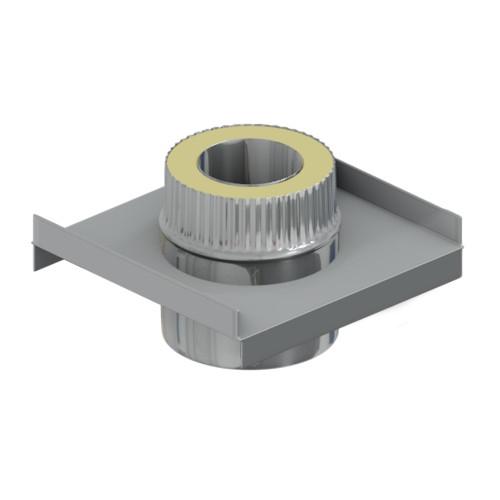 Сэндвич - опора 35 мм, 100 мм, AISI 304, AISI 430, 0,5 мм