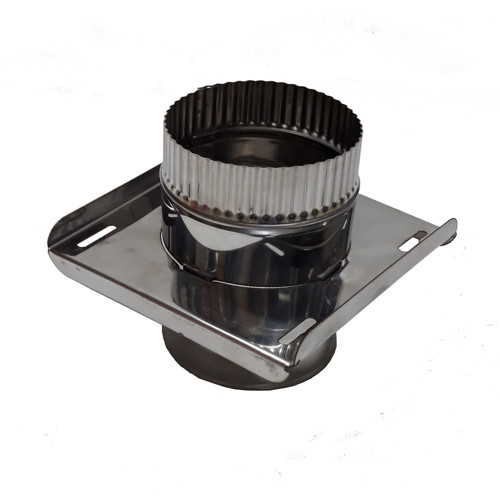 Моно - опора нержавейка 100 мм, AISI 430, 0,5 мм