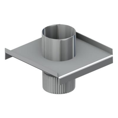 Моно - опора 100 мм, Оцинковка, 0,5 мм