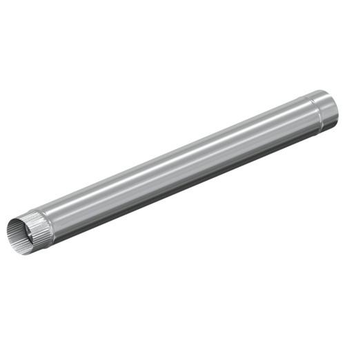 Моно труба 1250 мм 100 мм, Оцинковка, 0,5 мм