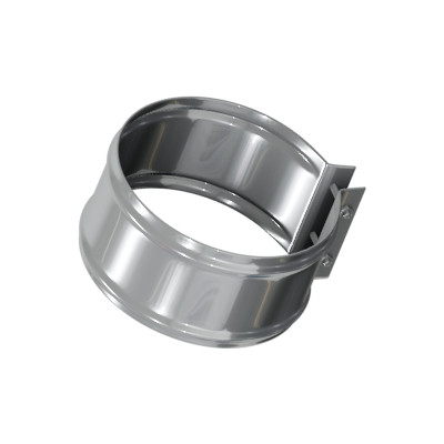 Хомут стяжной для сэндвич-труб 0.5 мм, AISI 430, 185 мм