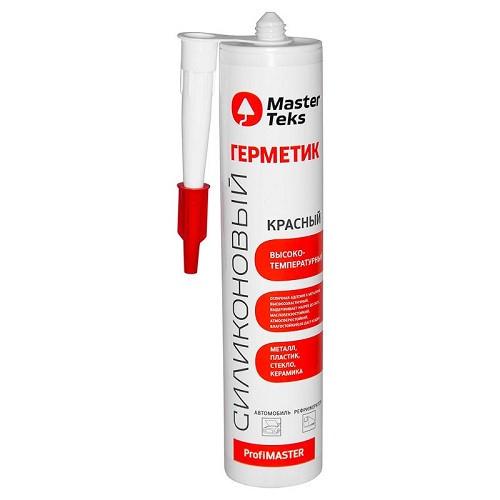 Герметик силиконовый MasterTeks высокотемпературный 260 мл